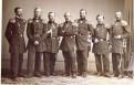 Командиры кораблей эскадры адмирала Лесовского (в центре). Слева направо Зеленой, Бутаков, Федоровский, Лесовский, Лунд, фон Кремер и Копытов
